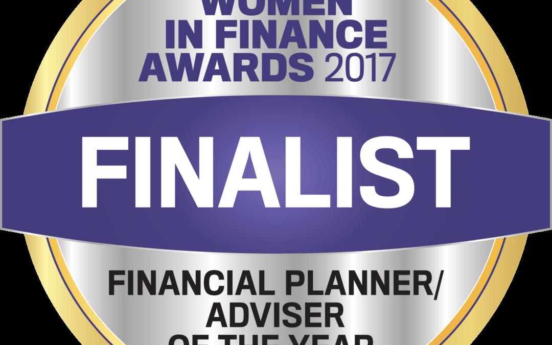 Women in Finance – Finalist!